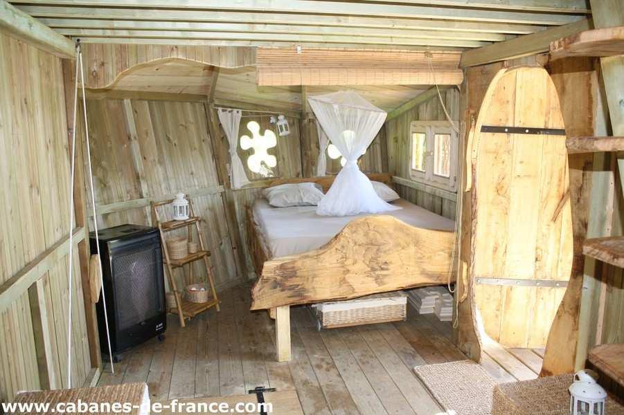 cabane folenn dihan cabane dans les arbres en bretagne cabanes de france. Black Bedroom Furniture Sets. Home Design Ideas