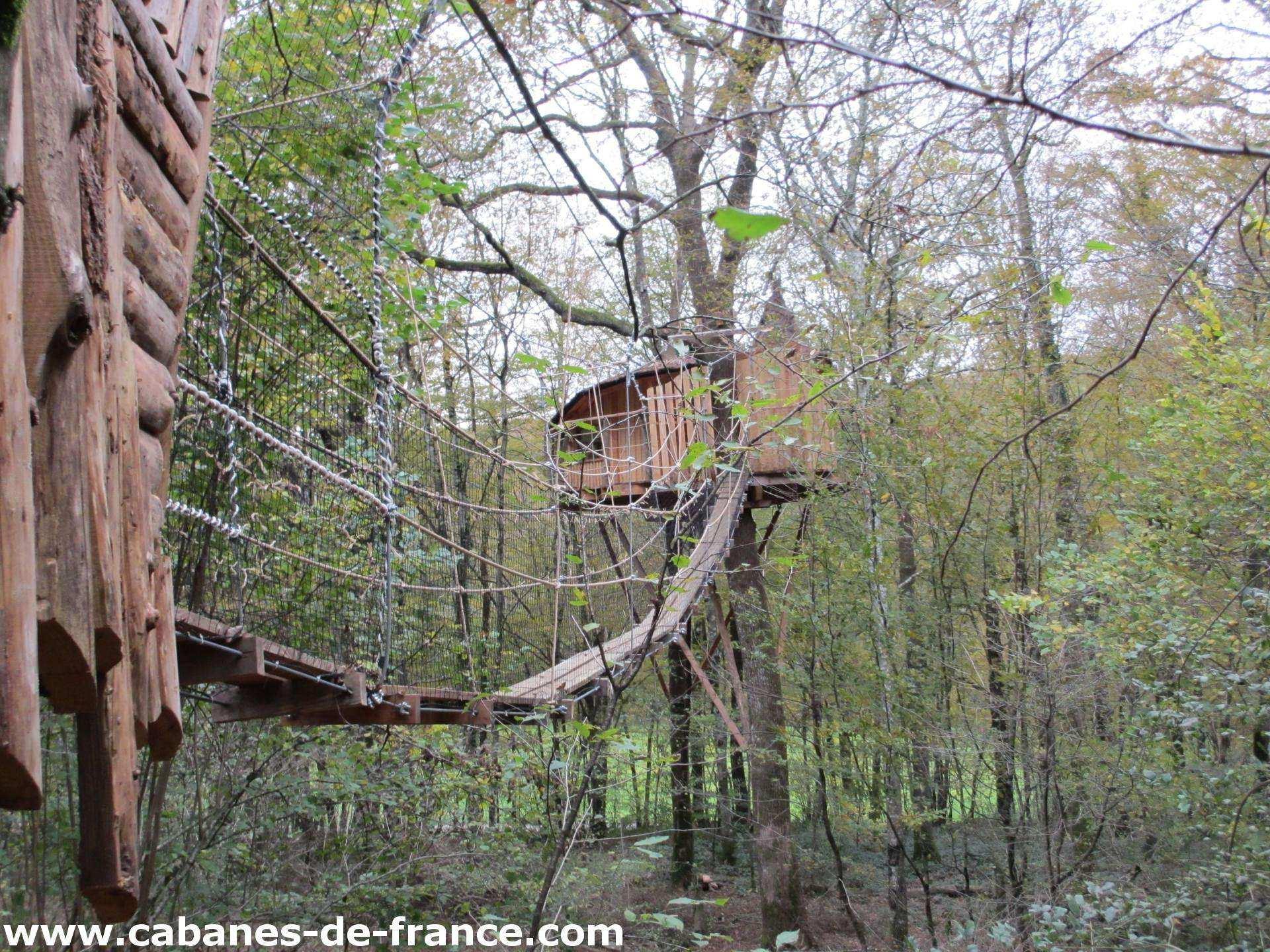 Cabane Du Bois Clair - Tad Goz u2013 Les Cabanes du Bois Clair Cabane dans les arbres en Franche Comté Cabanes de France