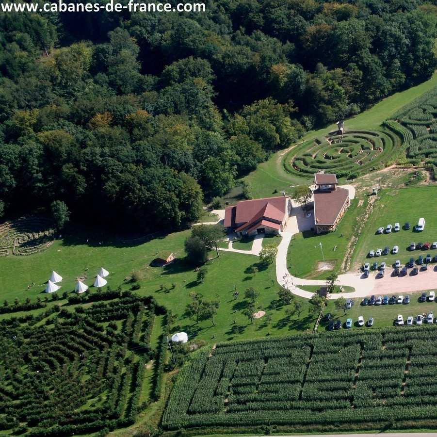 La Ferme Aventure Cabanes de France # Ferme Aventure Chapelle Aux Bois