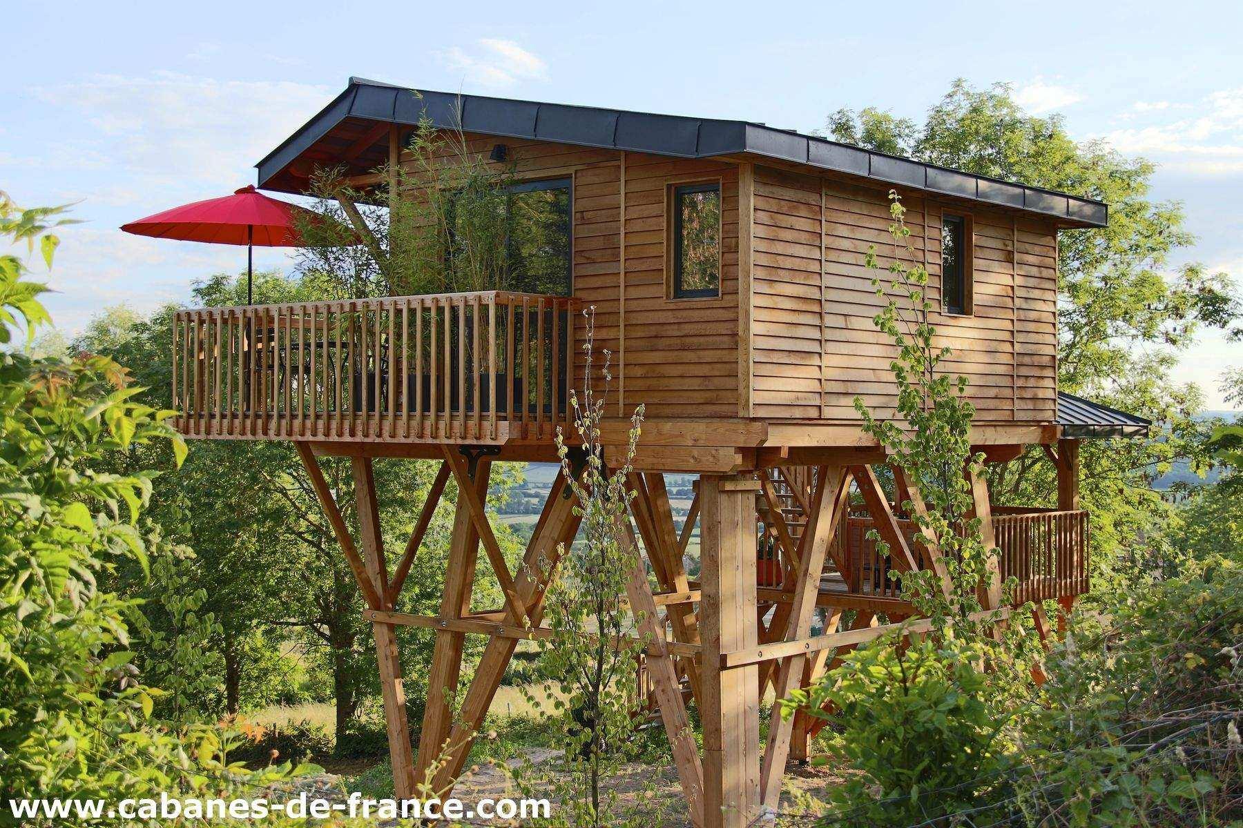 Le Domaine des Prés Verts Spa Cabanes de France