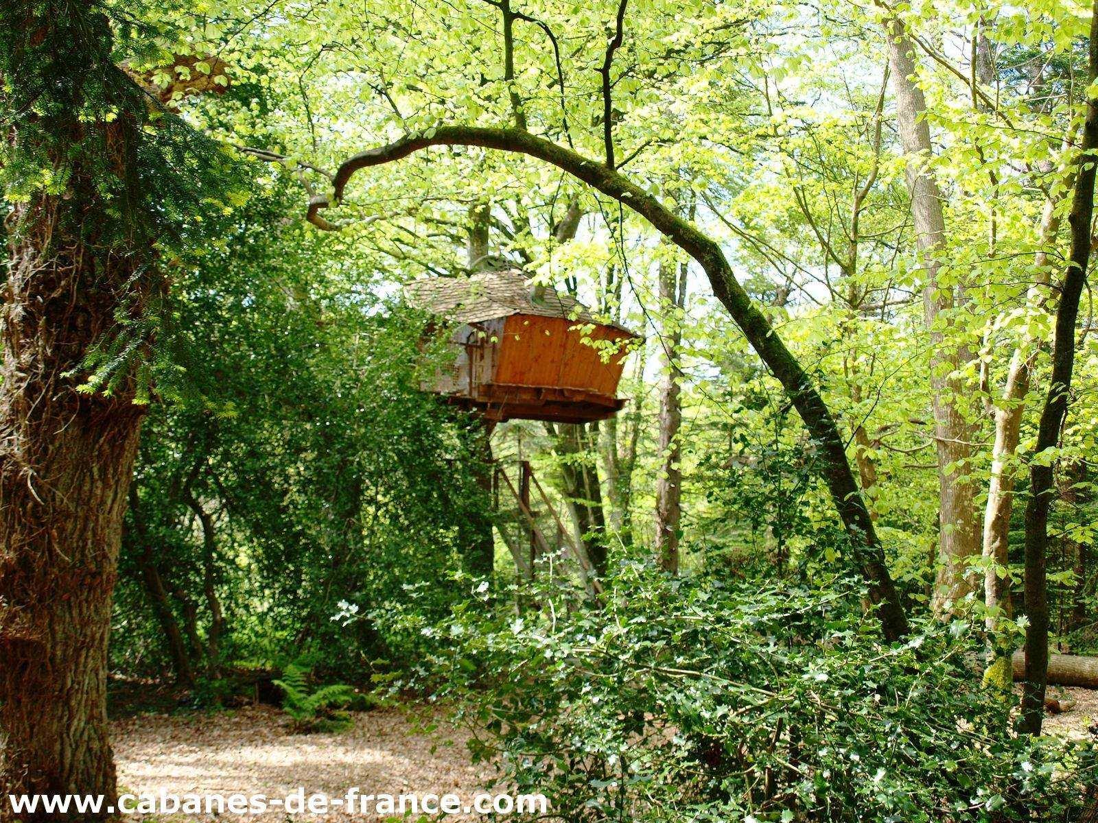 cabane dans les arbres jonquille cabanes de kermenguy. Black Bedroom Furniture Sets. Home Design Ideas