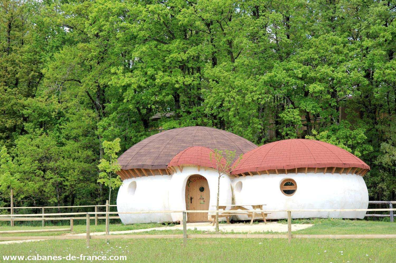 Maison champignon de dienn d fi plan t autre en poitou charentes caban - Champignons maison symptomes ...