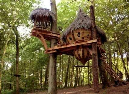 L 39 arbre cabane cabanes de france for Acheter cabane dans les arbres