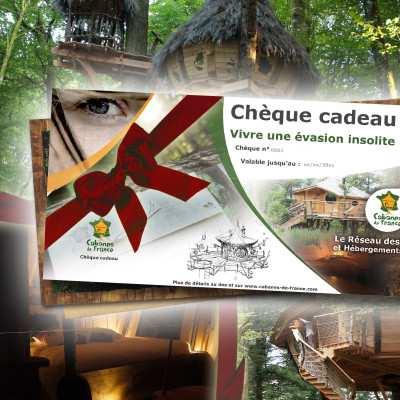 Chèque cadeau Escapad - Box cabanes dans les arbres