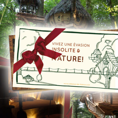 Chèque cadeau Escapade - Box cabanes dans les arbres