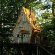 Une cabane sortie tout droit d'un conte