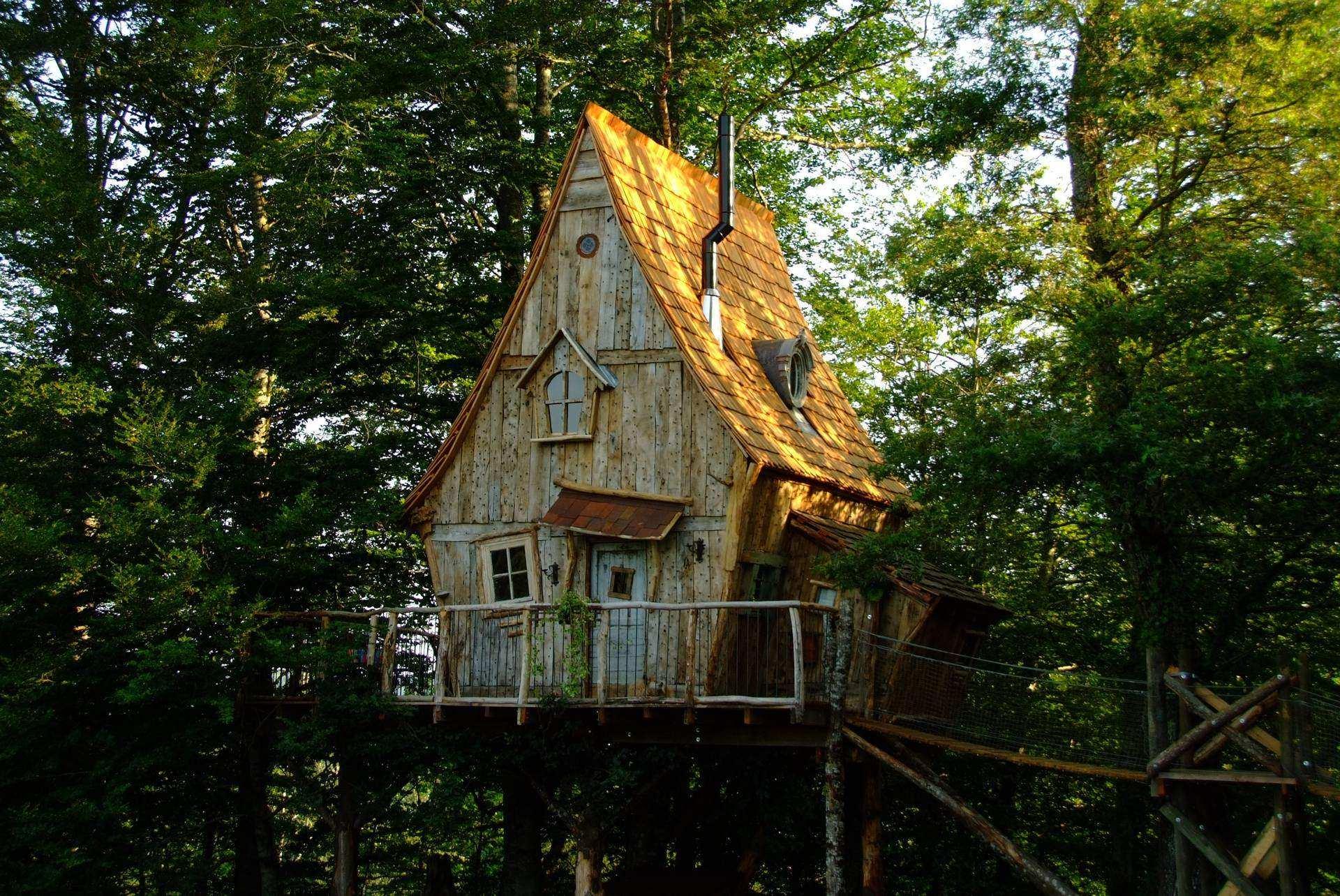 Ch que cadeau escapade offrir un s jour insolite parmi de 480 cabanes perch es - Cabane en bois dans les arbres ...