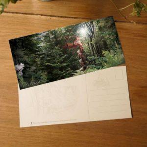 Carte postale Cabanes de France