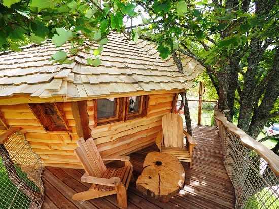 la cabane de la plage du midi cabane dans les arbres en. Black Bedroom Furniture Sets. Home Design Ideas
