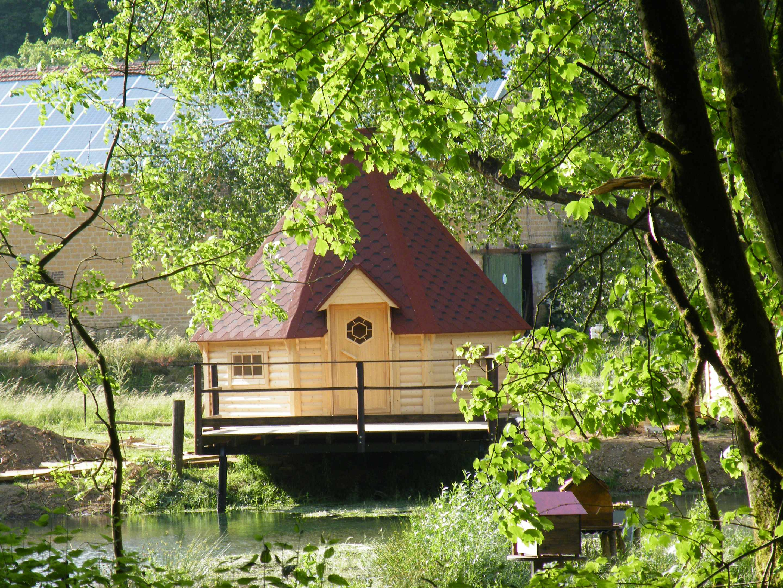 Kota Viking – Kotas Esprit Nordique Cabane au sol Lodge en
