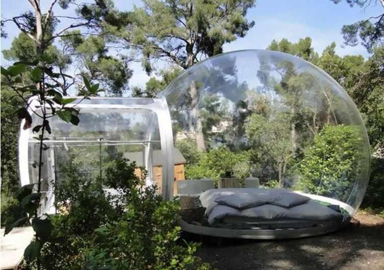 Des endroits insolites pour dormir sous les étoiles - Cabanes de France