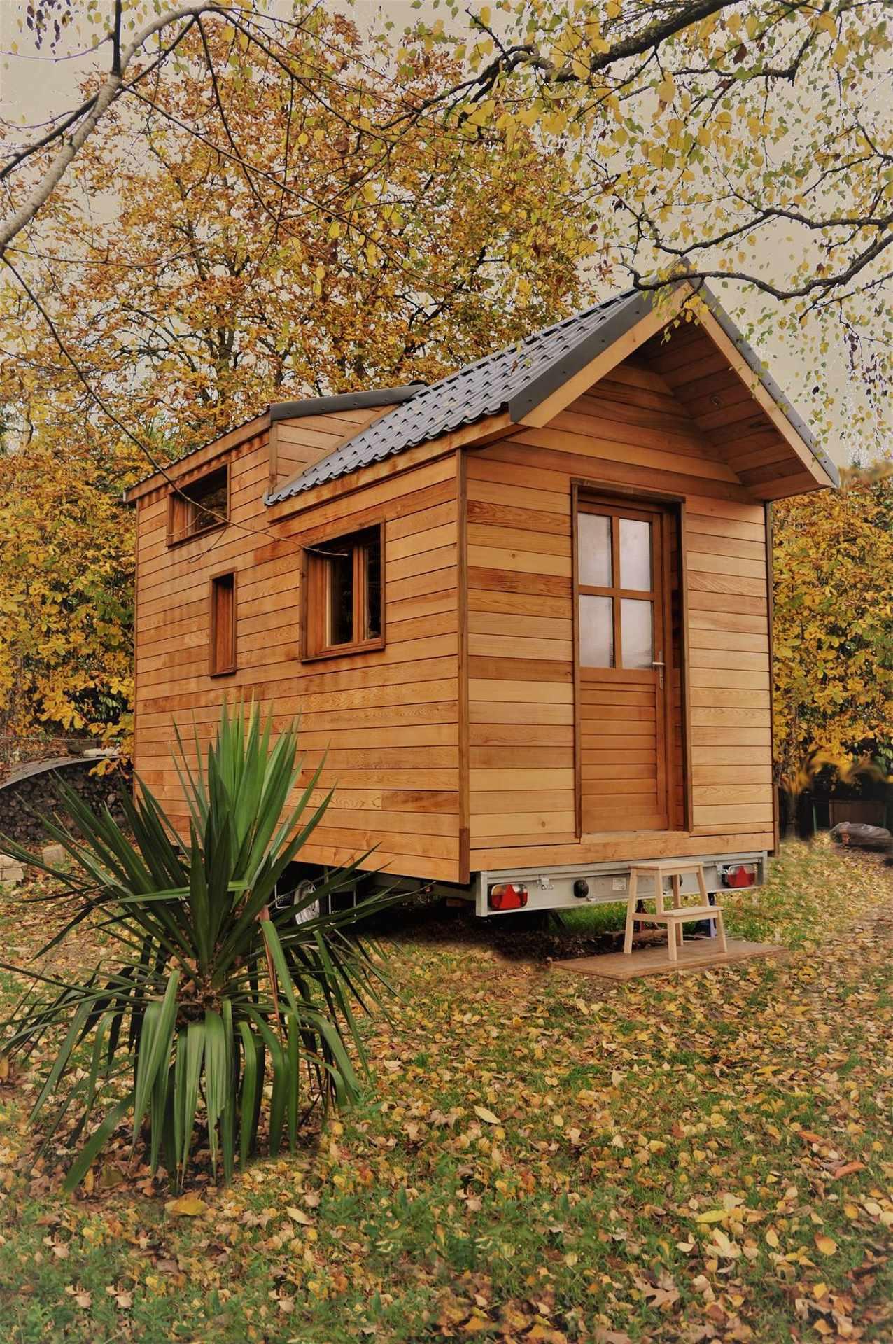 ecolodge la belle verte cabanes de france. Black Bedroom Furniture Sets. Home Design Ideas