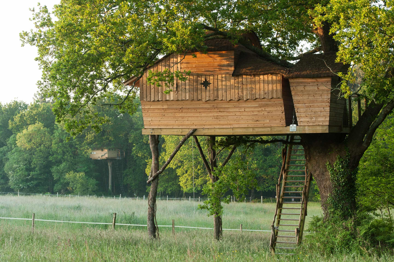 cabane sterenn dihan cabane dans les arbres en. Black Bedroom Furniture Sets. Home Design Ideas
