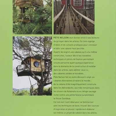 Dos couverture - Une cabane dans les arbres - Pete Nelson