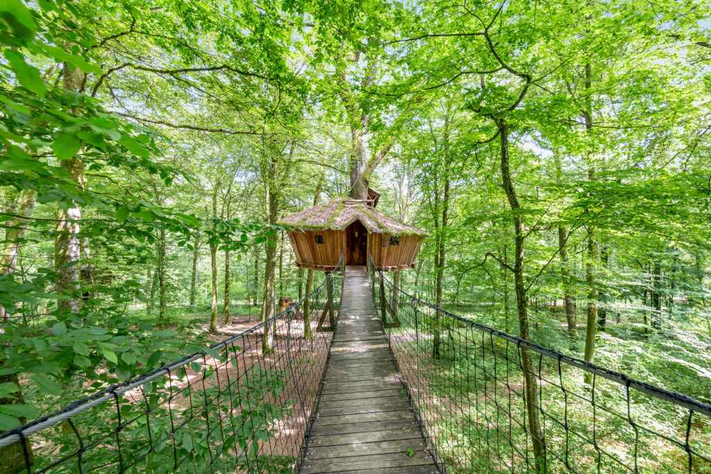 cabane el sue o l arbre cabane cabane dans les. Black Bedroom Furniture Sets. Home Design Ideas