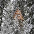 Cabane nis dau Sapi aux cabanes des Volcans en Auvergne