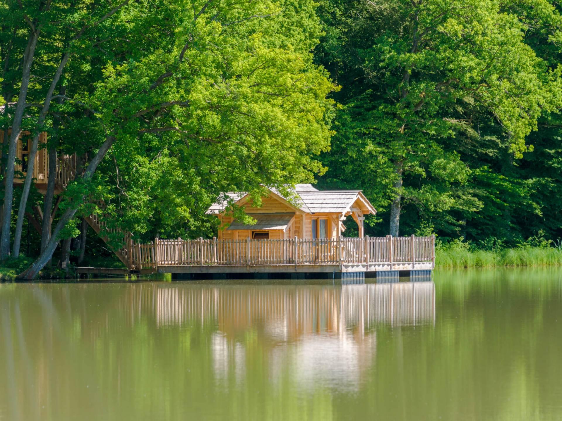 Cabane Des Grands Reflets cabane famille royale - les grands reflets : cabane sur l