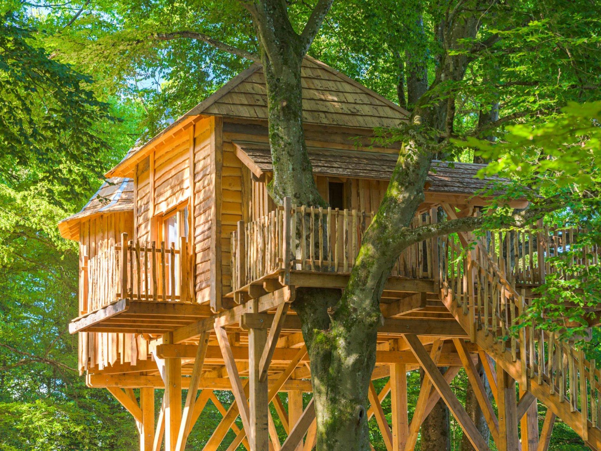 Cabane Des Grands Reflets cabane famille repaire - les grands reflets : cabane dans